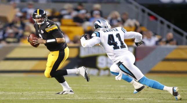 NFL: Preseason-Carolina Panthers at Pittsburgh Steelers