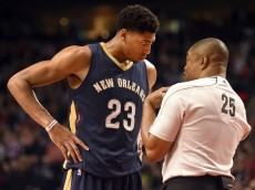 NBA: New Orleans Pelicans at Portland Trail Blazers