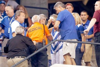 colts fans injured