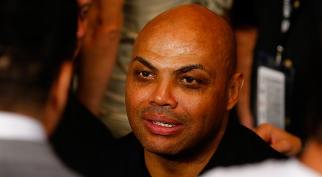 LAS VEGAS, NV - MAY 02:  Charles Barkley attends the welterweight unification championship bout on May 2, 2015 at MGM Grand Garden Arena in Las Vegas, Nevada.  (Photo by Al Bello/Getty Images)