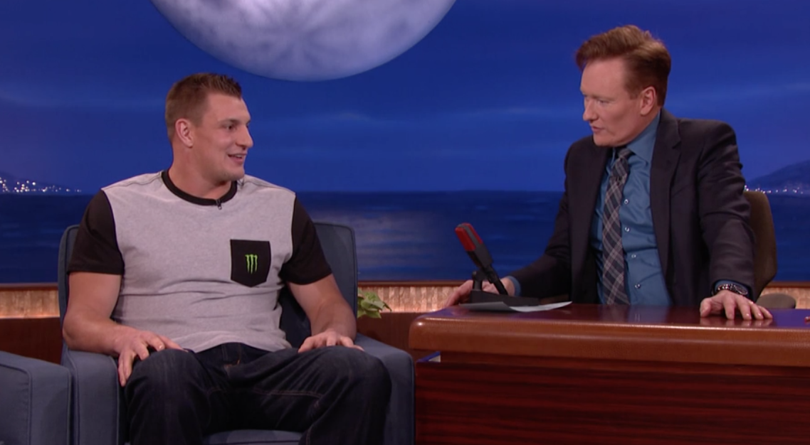 Rob Gronkowski Opens Up About Male Stripper Past The