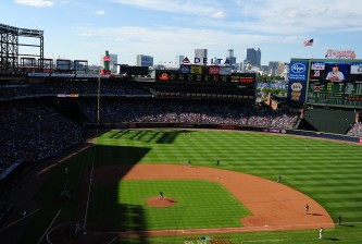 ATLANTA, GA - MAY 28: A general view of Turner Field during the game between the Atlanta Braves and the Miami Marlins at Turner Field on May 28, 2016 in Atlanta, Georgia. (Photo by Scott Cunningham/Getty Images)