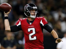 NEW ORLEANS, LA - SEPTEMBER 26: Matt Ryan #2 of the Atlanta Falcons throws the ball during the first half of a game against the New Orleans Saints at the Mercedes-Benz Superdome on September 26, 2016 in New Orleans, Louisiana.  (Photo by Jonathan Bachman/Getty Images)