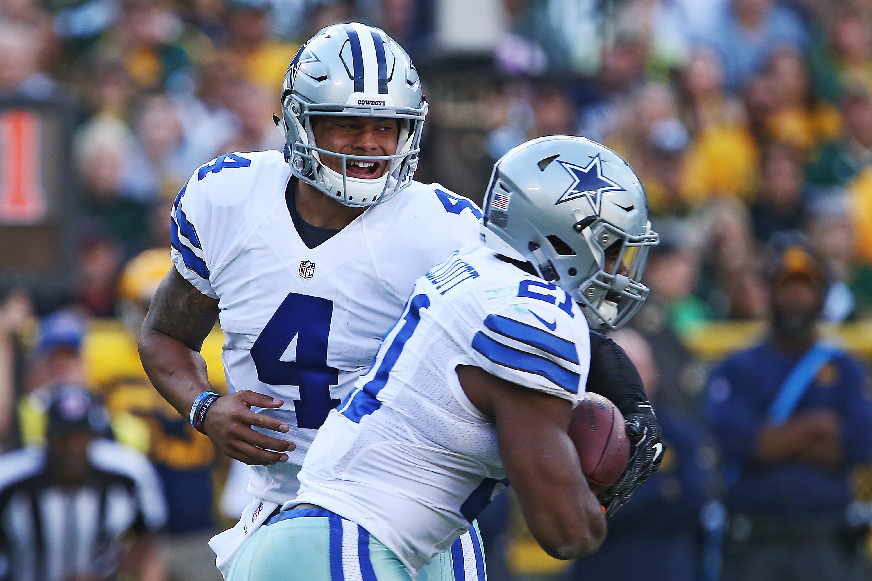 Dez Bryant Says Dak Prescott Ezekiel Elliott Are The