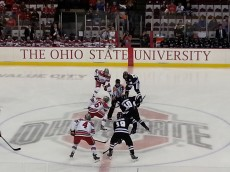 OSU Hockey Faceoff