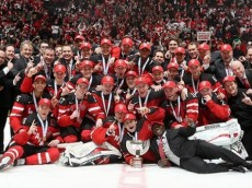 Team Canada Gold Medal Picture