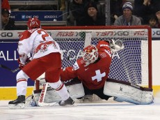 Denmark beats Switzerland in a shoot out 4-3 in the round robin of the IIHF World Junior Hockey Tournament