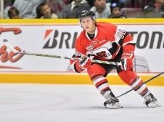 Dante Salituro of the Ottawa 67's. Photo by Terry Wilson / OHL Images.