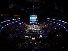 SUNRISE, FL - JUNE 26:  A general view of the floor prior to the first round of the 2015 NHL Draft at BB&T Center on June 26, 2015 in Sunrise, Florida.  (Photo by Bruce Bennett/Getty Images)