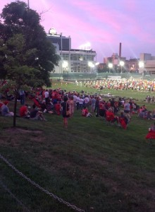 TBDBITL alumni watch Thursday night's summer session.