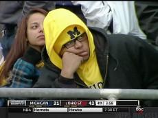 Sad UM Fan