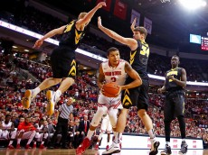 COLUMBUS, OH - DECEMBER 30:  at Value City Arena on December 30, 2014 in Columbus, Ohio. Iowa defeated Ohio State 71-65. (Photo by Kirk Irwin/Getty Images) *** Local Caption *** name