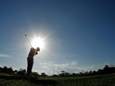 PALM BEACH GARDENS, FL - MARCH 02:  Tiger Woods hits his tee shot on the 12th hole during the second round of the Honda Classic at PGA National on March 2, 2012 in Palm Beach Gardens, Florida.  (Photo by Mike Ehrmann/Getty Images)