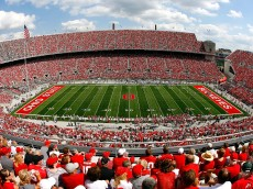 COLUMBUS, OH - SEPTEMBER 06:  A general view of Ohio Stadium during the game between the Ohio State Buckeyes and the Ohio Bobcats on September 6, 2008 in Columbus, Ohio.  (Photo by Kevin C. Cox/Getty Images)