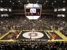 Ohio State wrestling vs Penn State Sunday, Jan. 11, 2015, in Columbus, Ohio. (Photo/Jay LaPrete)