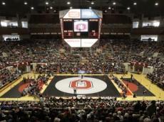 Ohio State wrestling vs Penn State Sunday, Jan. 11, 2015, in Columbus, Ohio. (Photo/Jay LaPrete)