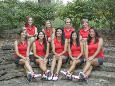 Ohio State women's golf headshots, team and action photos Monday, Aug. 31, 2015, in Columbus, Ohio. (Photo/Jay LaPrete)