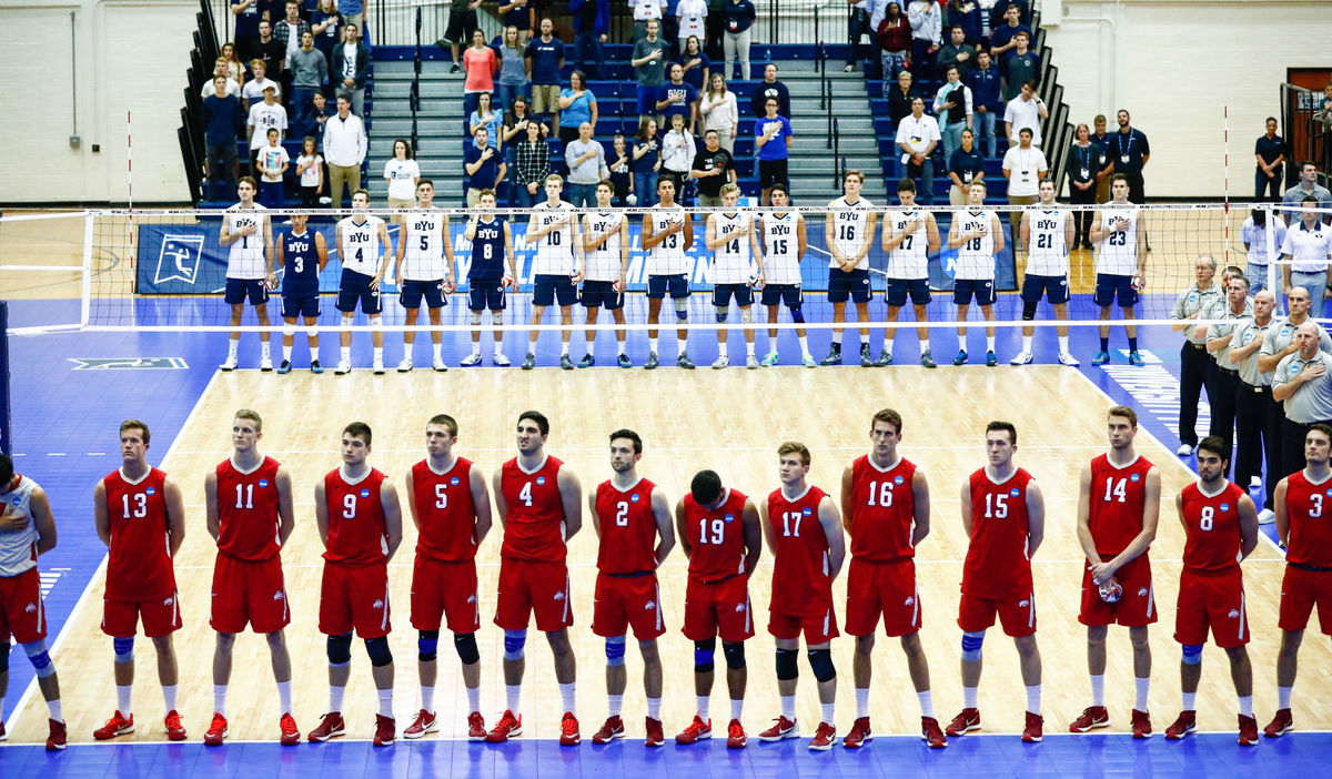Mens-volleyball