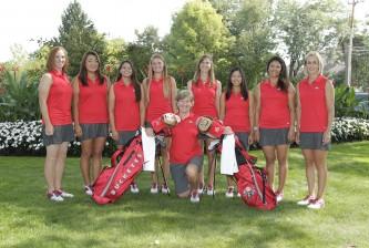 Ohio State women's golf headshots, team and action photos Monday, Aug. 31, 2015, in Columbus, Ohio. (Photo/Jay LaPrete)