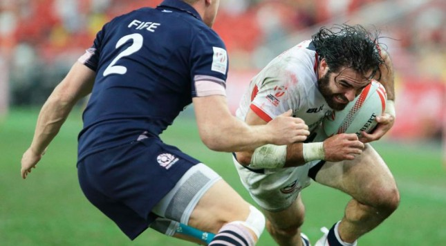 Nate Ebner gives Patriots-like quote after rugby win