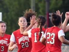 Virginia Tech Women's Soccer vs. Ohio State (Photo courtesy of OSU Athletics)