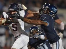 Penn upsets Villanova (2015, Photo credit: Penn Athletics)
