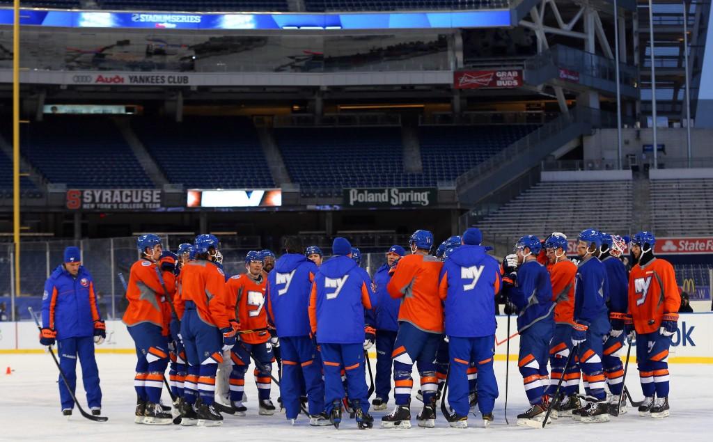 NHL: Stadium Series-Practice Day