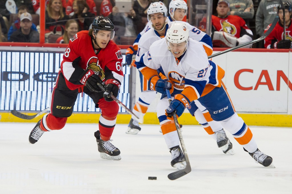 NHL:New York Islanders at Ottawa Senators