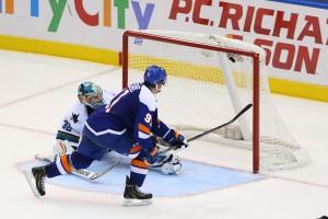 NHL: San Jose Sharks at New York Islanders