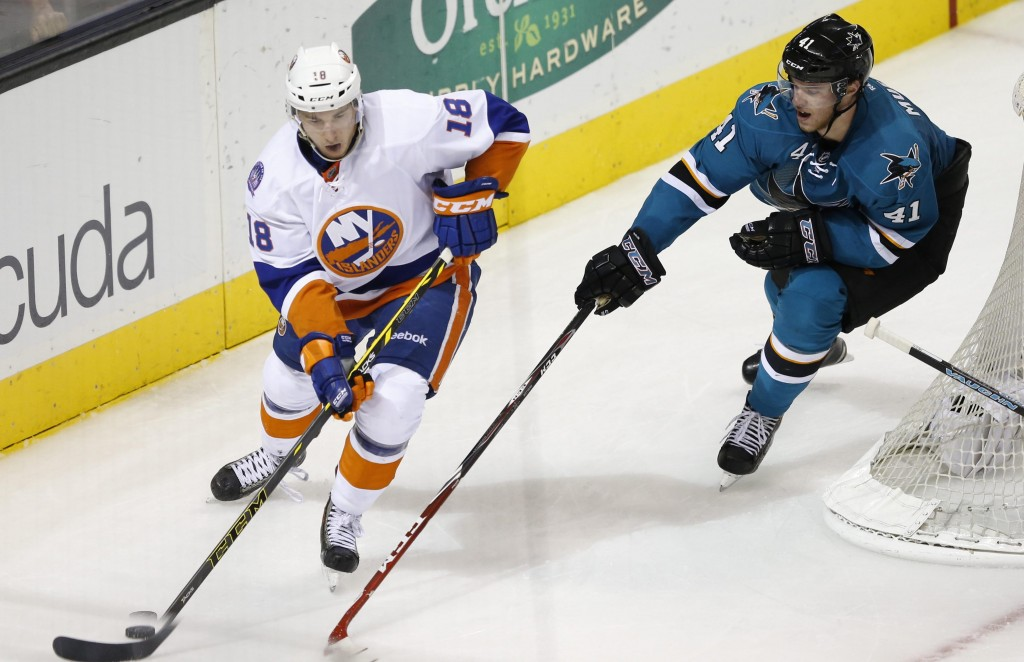 NHL: New York Islanders at San Jose Sharks
