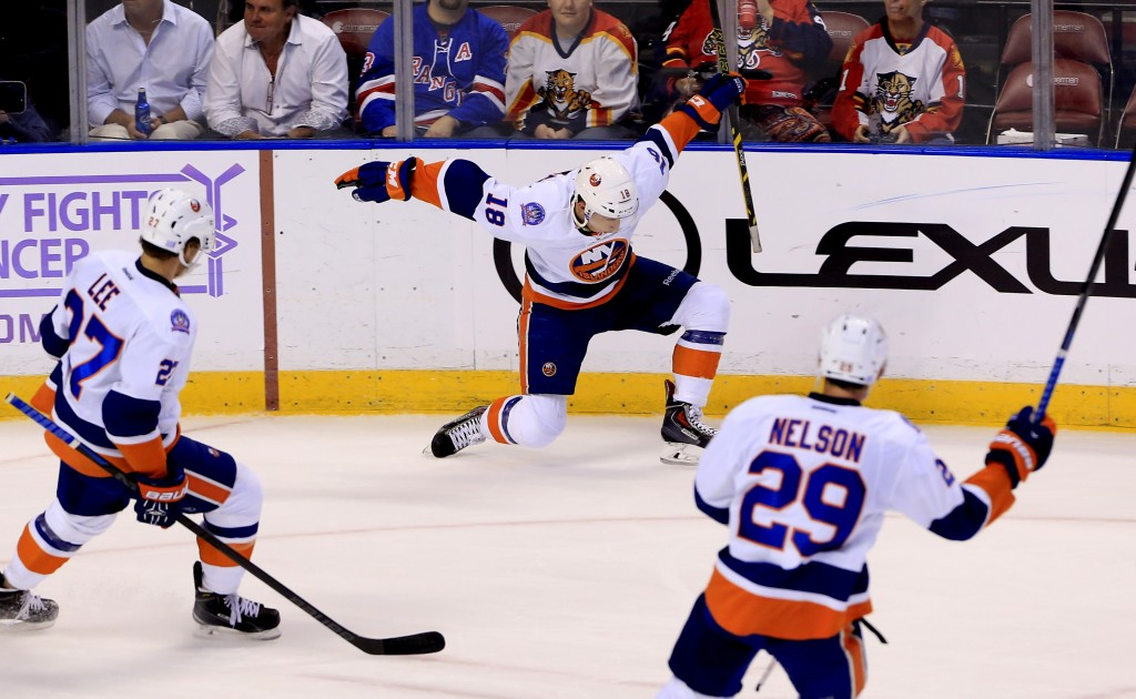 Brock Nelson will need to step up in this years Stanley Cup Playoffs series against the Florida Panthers