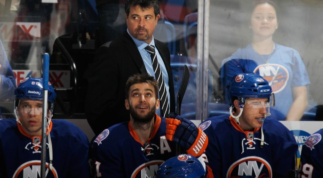Islanders Capuano Growing With His Players