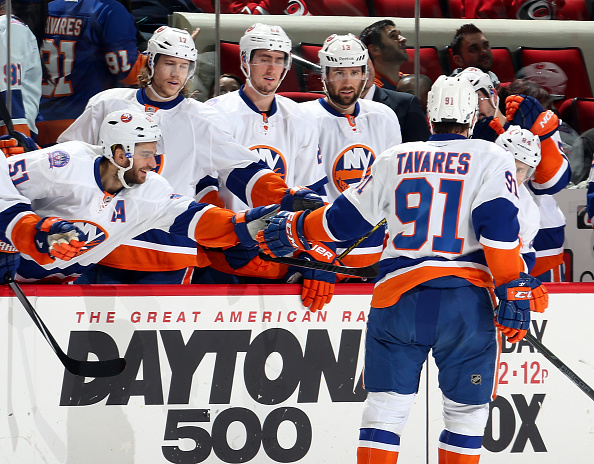 New York Islanders v Carolina Hurricanes