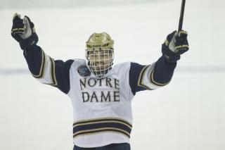 Robbie Russo (Notre Dame Athletics Blog)
