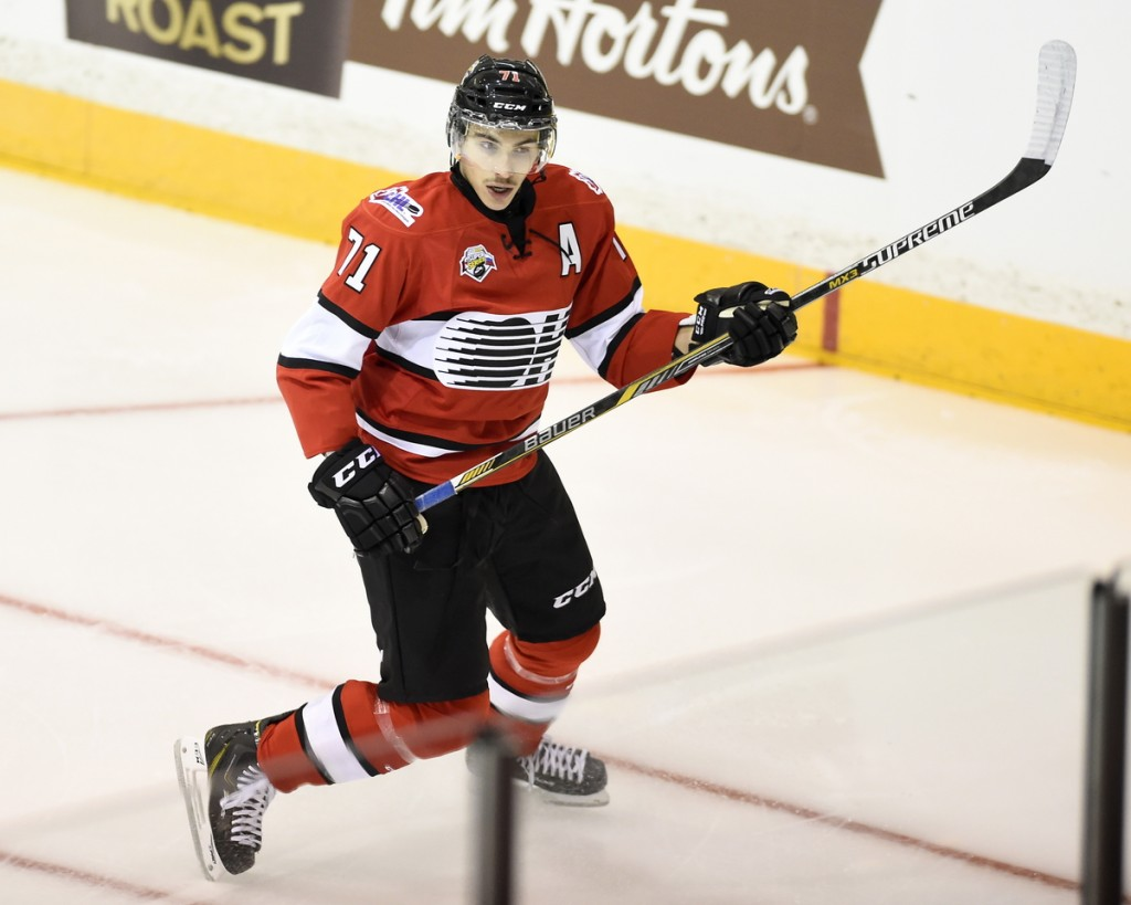 Michael Dal Colle (Aaron Bell/OHL Images)