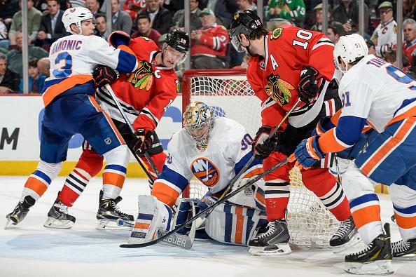 New York Islanders v Chicago Blackhawks