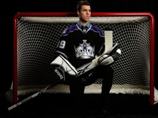 MONTREAL, QC - JUNE 27:  Jean-Francois Berube of the Los Angeles Kings poses for a portrait during the 2009 NHL Entry Draft at the Bell Centre on June 27, 2009 in Montreal, Quebec, Canada.  (Photo by Jamie Squire/Getty Images)