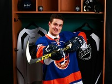 2015 NHL Draft Choice Mathew Barzal