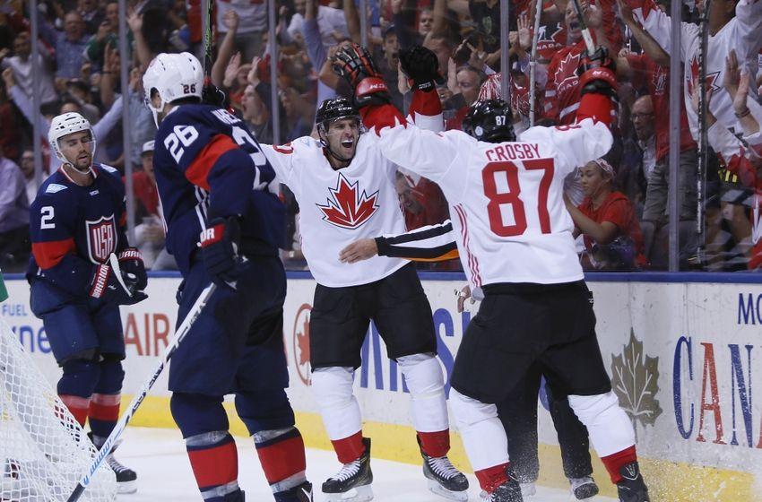 John Tavares, World Cup of Hockey Celebration