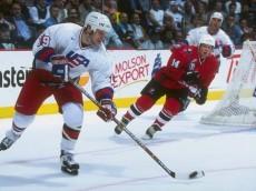 Hockey on TV - Doug Weight, World Cup, 1996