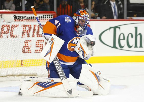 WIll Halak start for the Islanders in their season opener against the Rangers this Thursday?