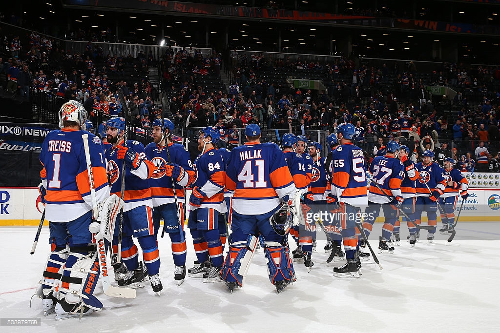 Islanders Defeat the Boston Bruins