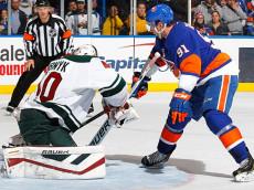 Islanders vs WIld, Tavares shootout goal