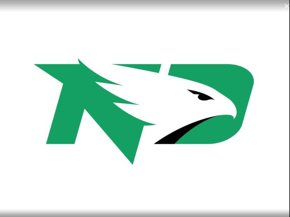UND's official Fighting Hawks Logo