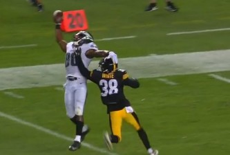Paul Turner vs. Steelers