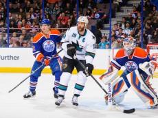 Oilers vs. Sharks