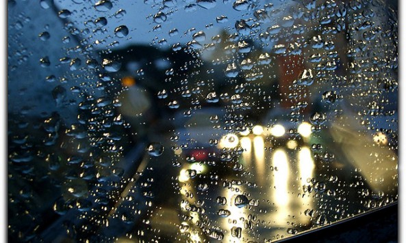 Rain, by Moyan Brenn