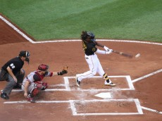 Andrew McCutchen connects