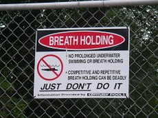 breath holding