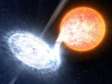 Suzaku Catches Retreat of a Black Hole's Disk